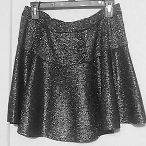 Black Sparkly Skirt